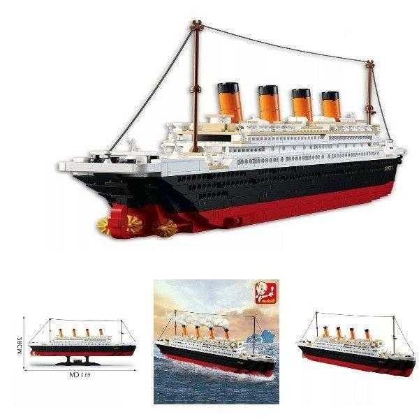 model building kits city titanic 3d blocks