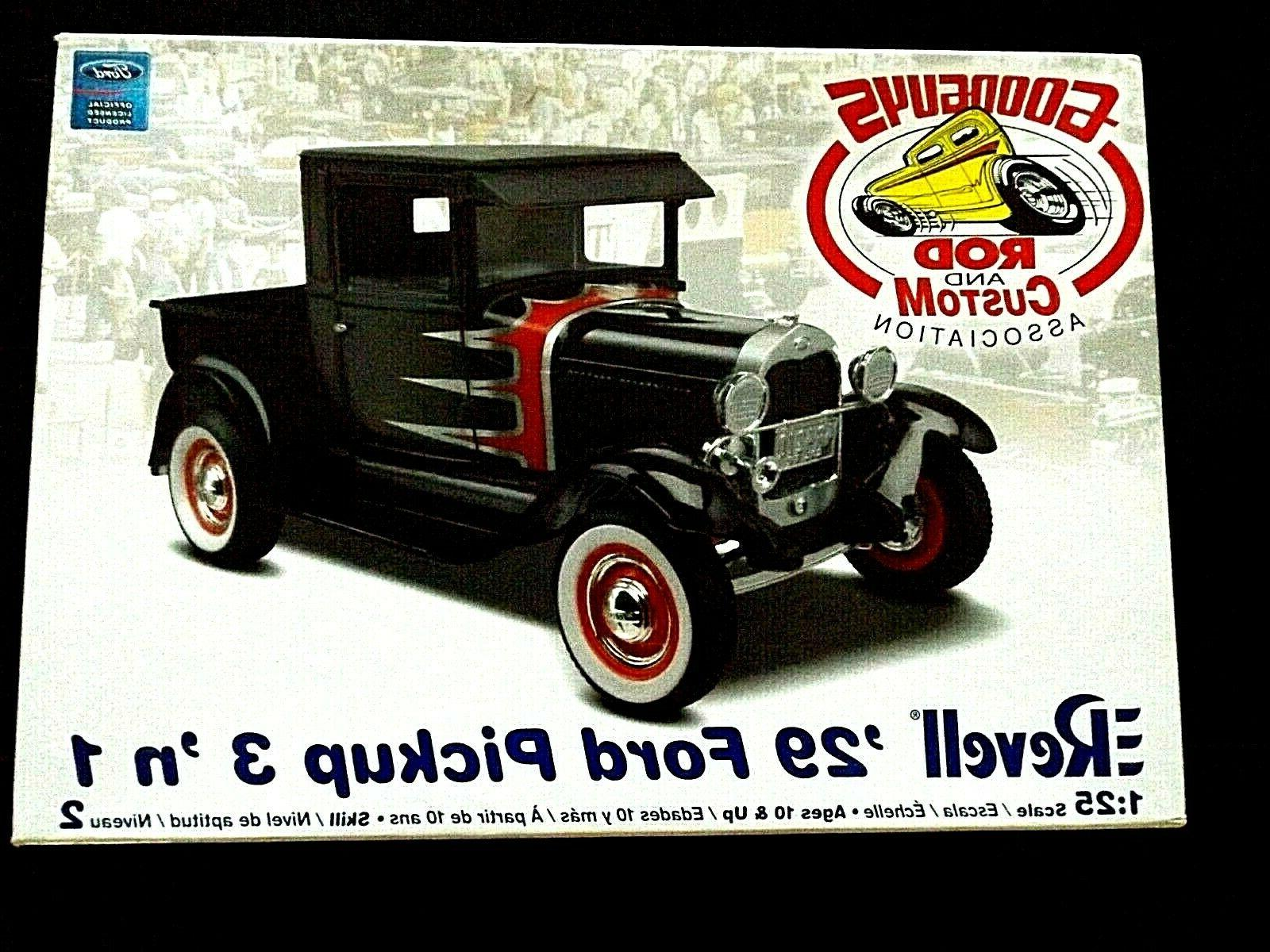 model kit 1929 ford pickup 3n1 kit