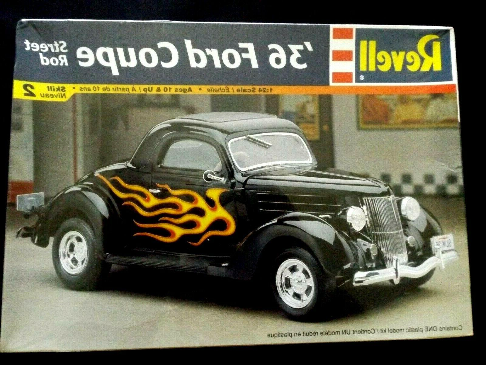 model kit 1936 ford coupe street rod