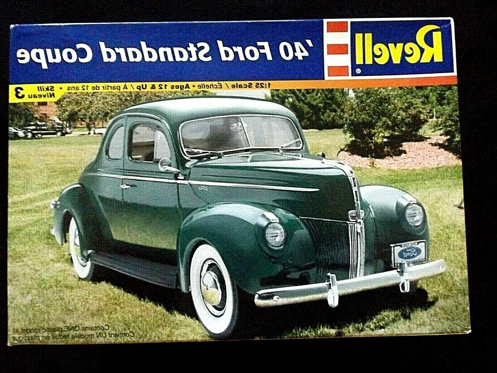 model kit 1940 ford standard coupe 1