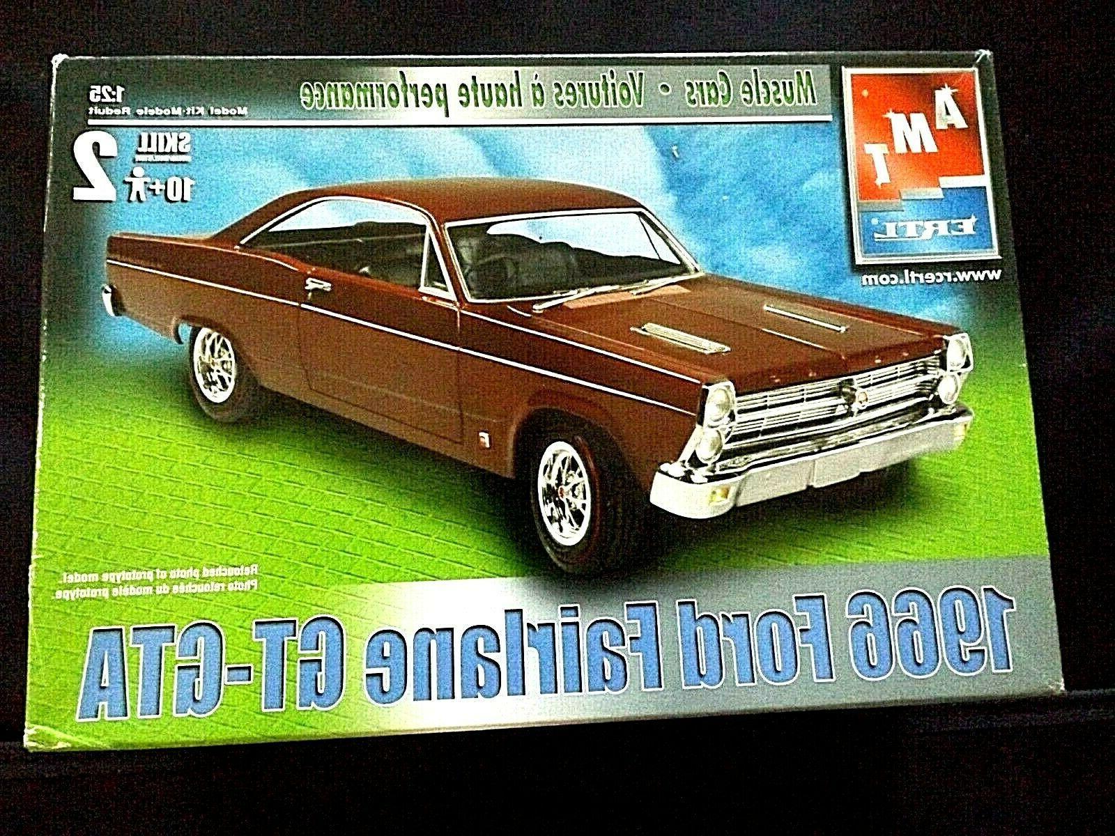 model kit 1966 ford fairlane gt gta