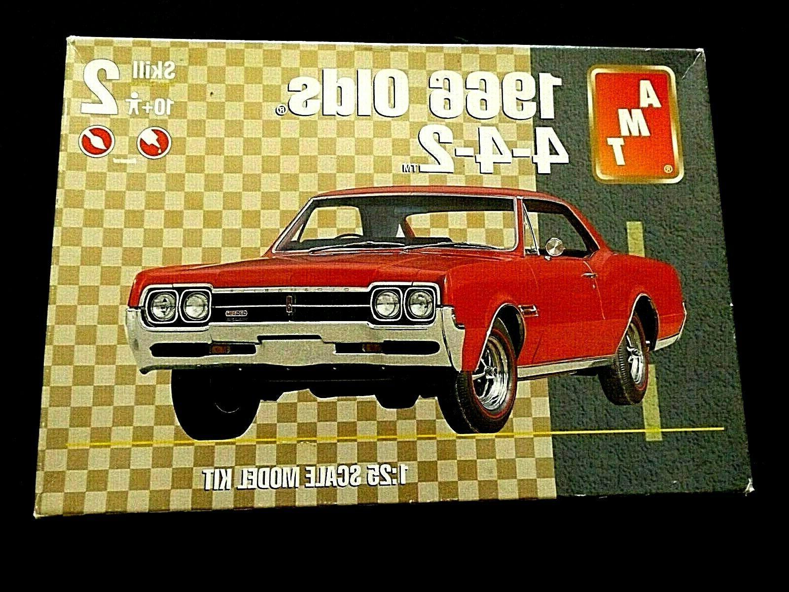 model kit 1966 oldsmobile 4 4 2