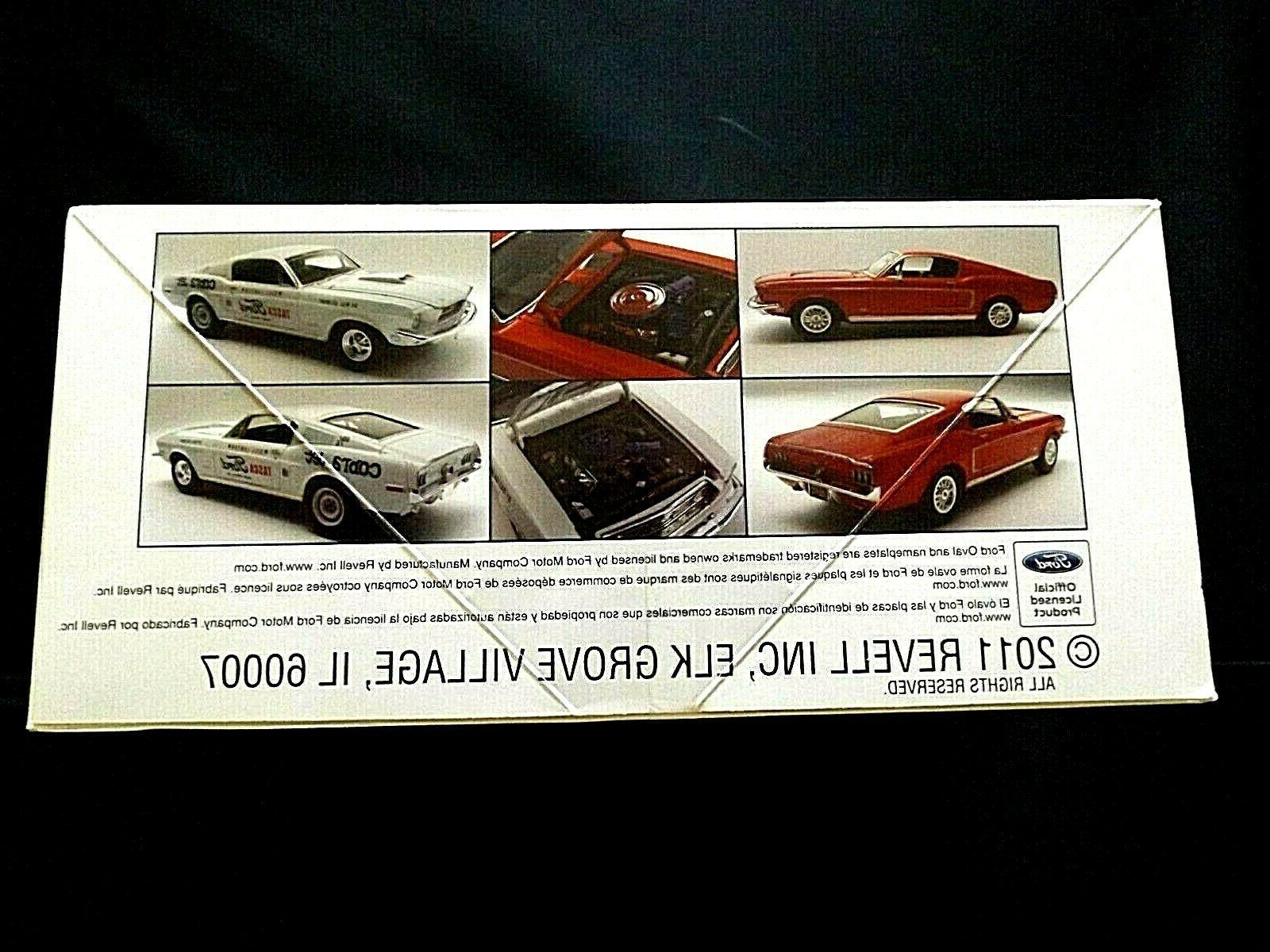 Model 1968 Mustang GT 2+2 Fastback 2n1 Kit Muscle 1:25