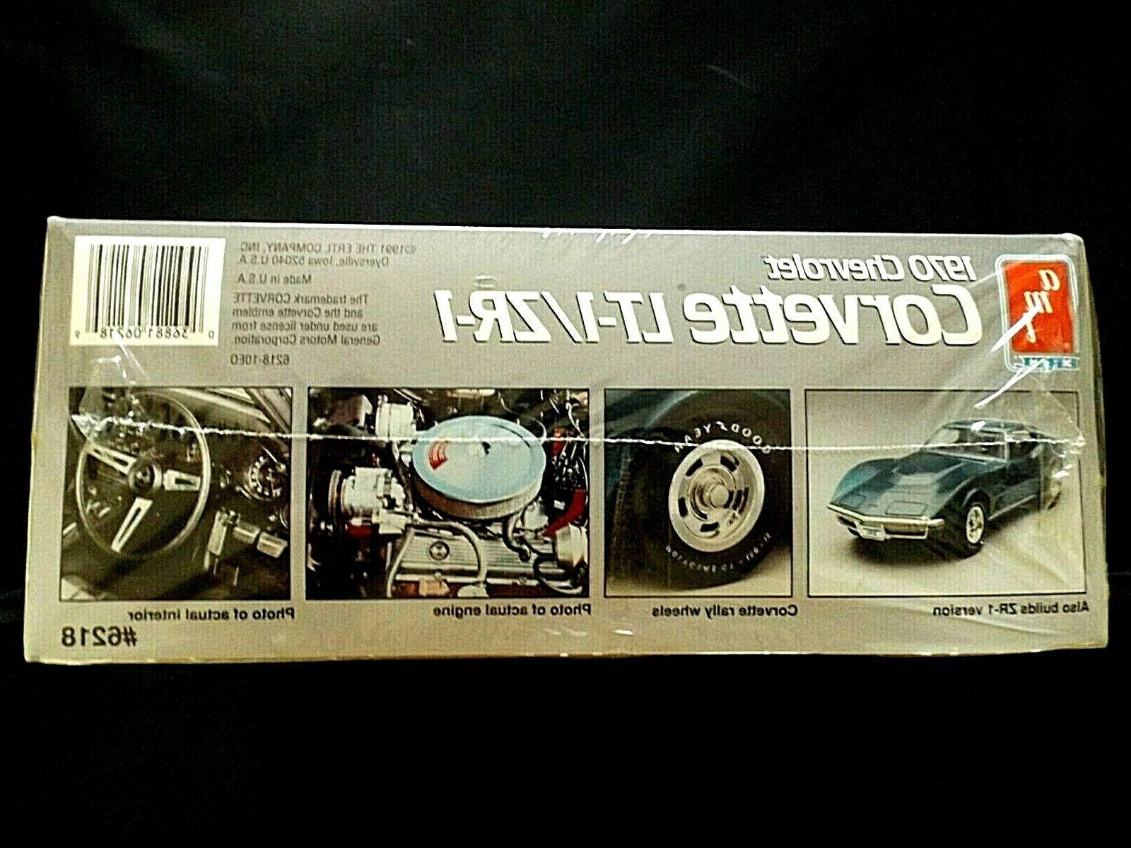 Model Kit 1970 Chevrolet Corvette 2n1 Kit AMT