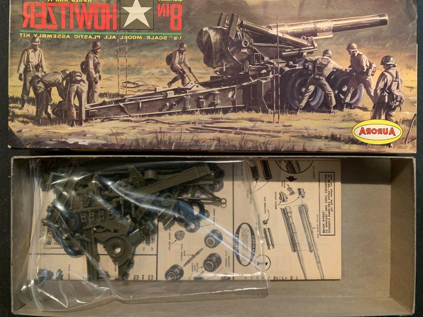Aurora Model Kit - U.S. Army Howitzer Rare