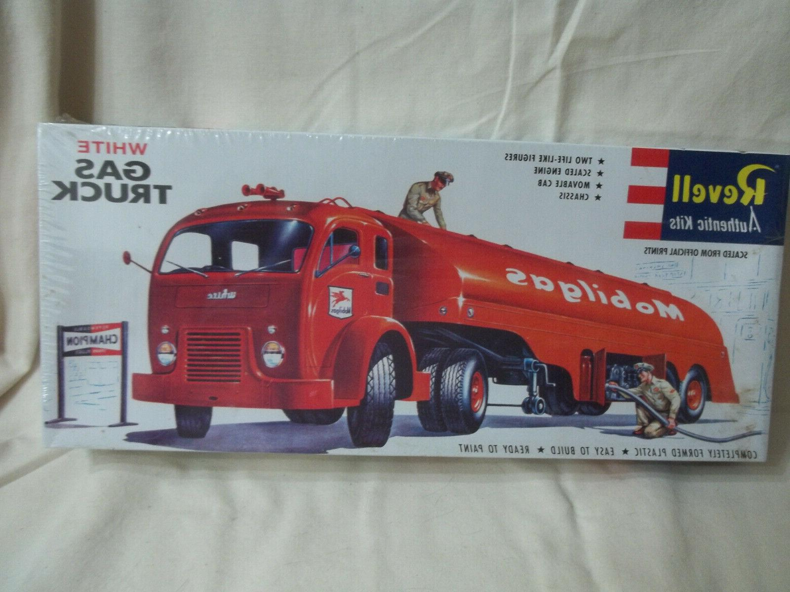 model kit white gas truck 1420free ship