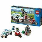 Model_kits Lego City Police Car and Drobow Bike 60042 SB