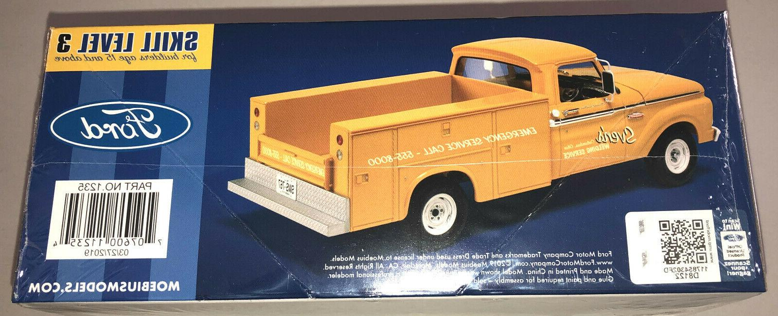 Moebius 1965 Service Truck 1:25 model new in