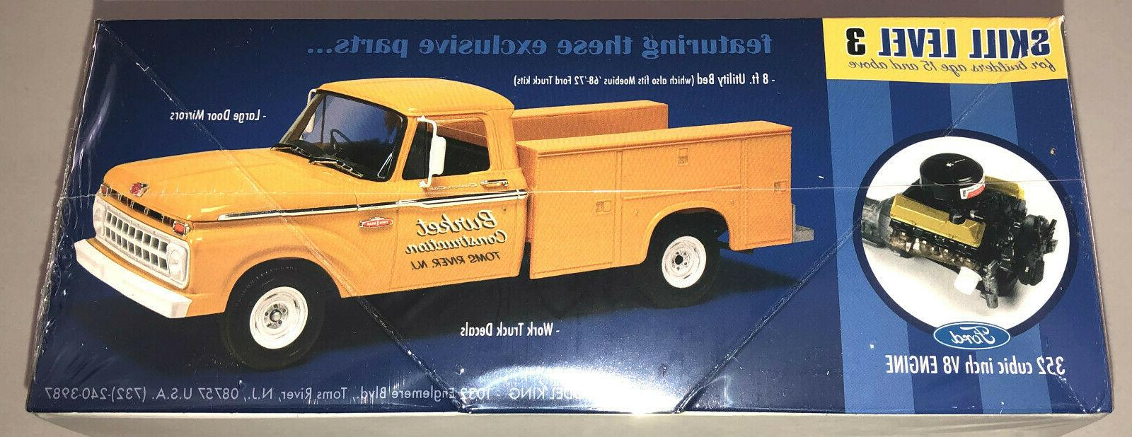 Moebius Ford F-100 Service Truck model kit in stock
