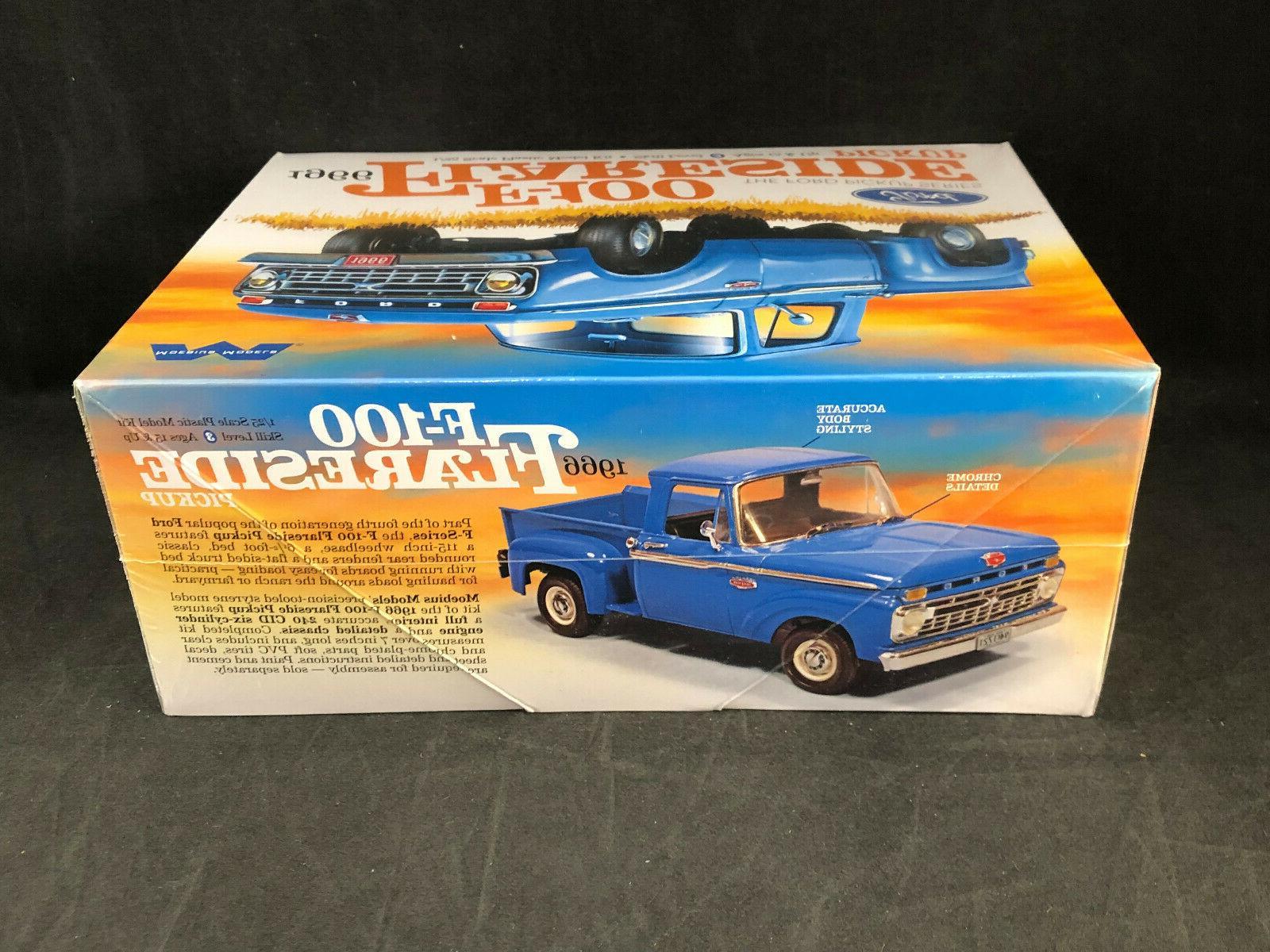 Moebius 1966 Flareside Pickup 1:25 Model Kit