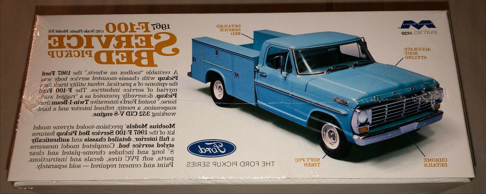 Moebius 1967 Ford Service Bed Truck scale model car new