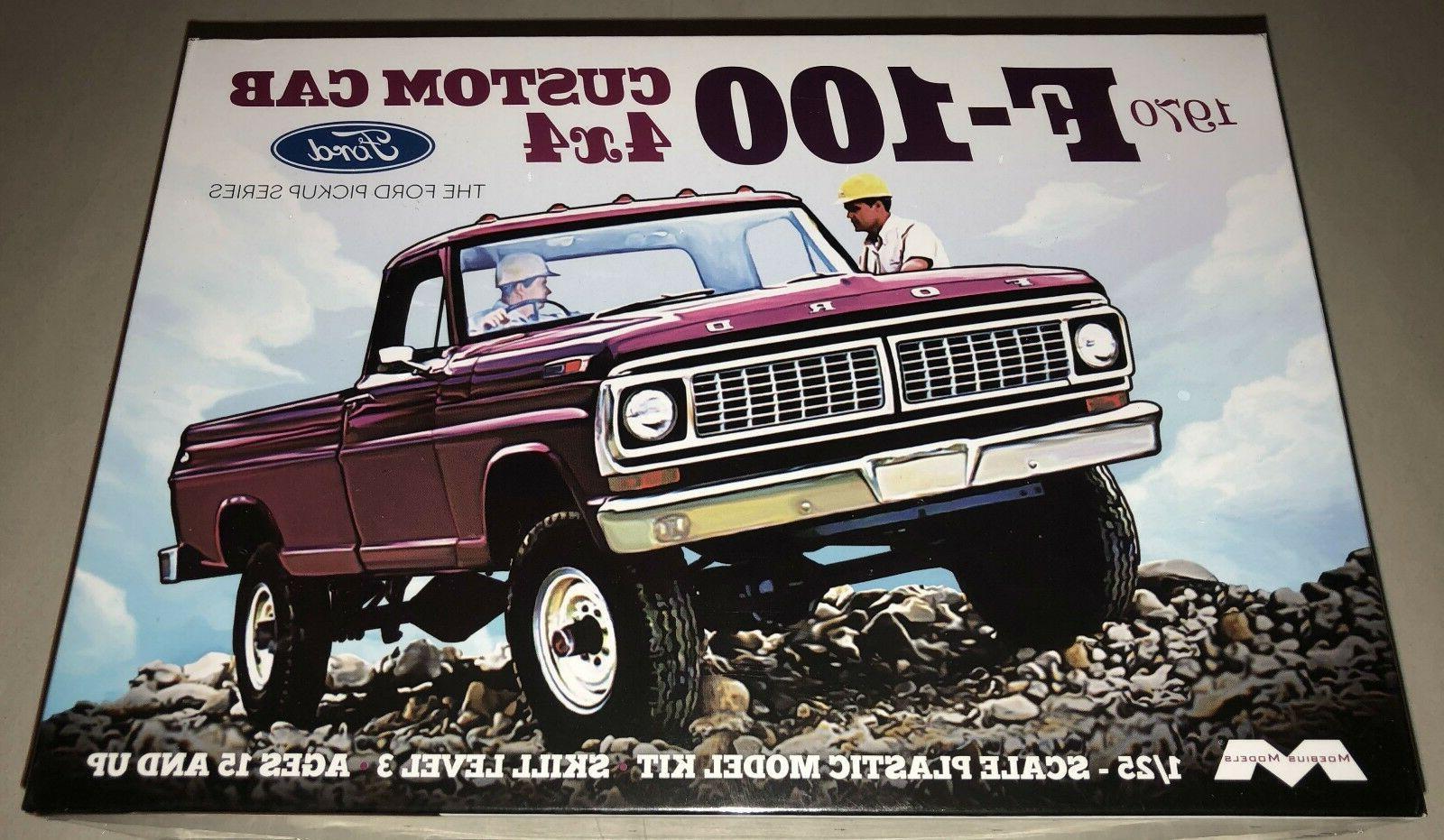 moebius 1970 ford f 100 custom cab