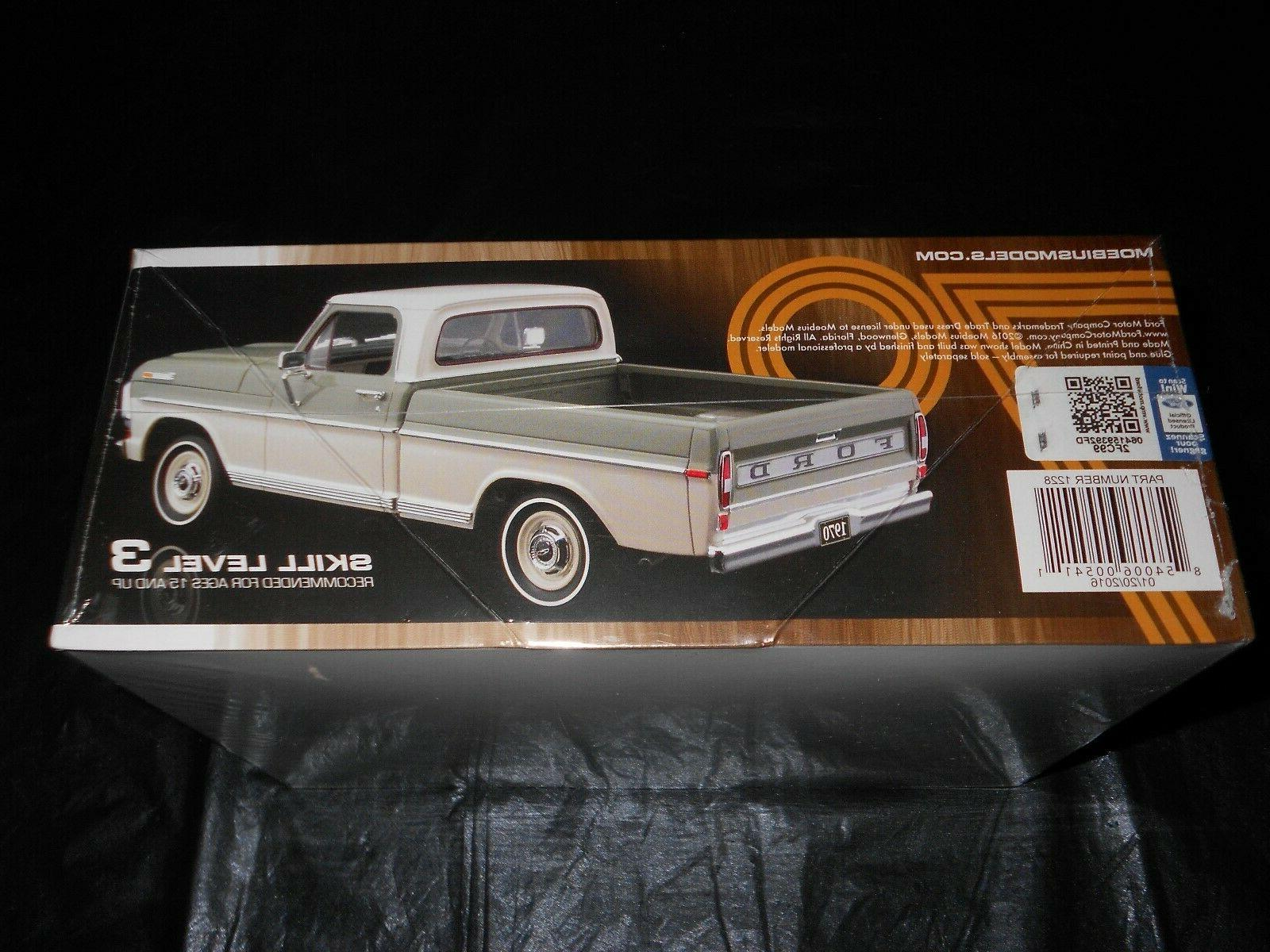 MOEBIUS / KING 1228, FORD F-100 CUSTOM PICKUP MODEL