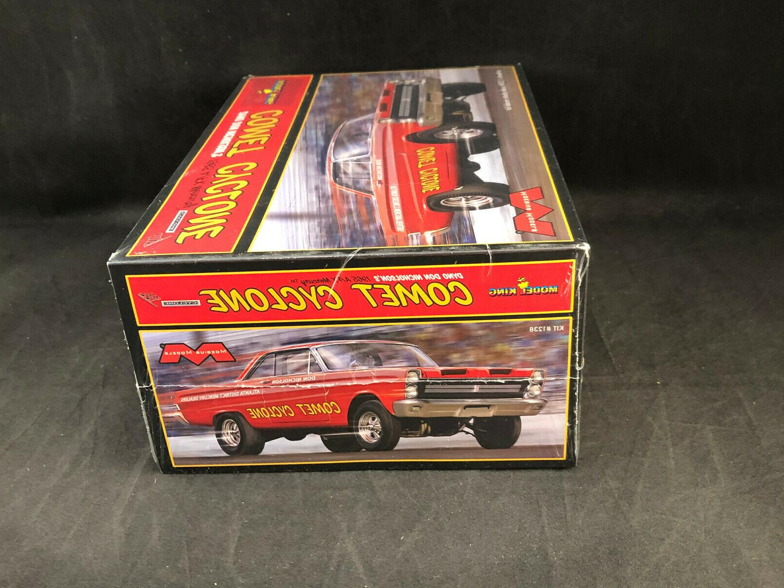 Moebius Mercury Comet Cyclone Scale Model 1238