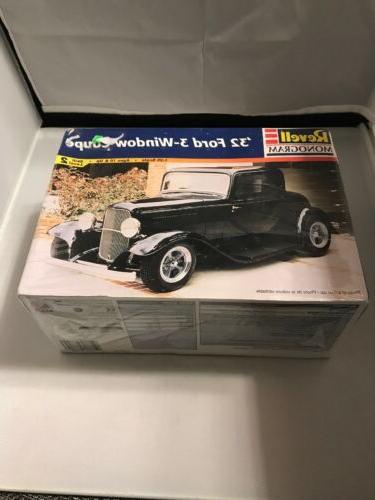 monogram 1932 ford 3 window coupe model