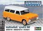 Revell Monogram 4409 1966 Chevrolet Suburban plastic model k