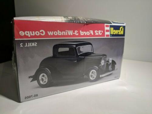 Revell Monogram Ford 3 Window Coupe Kit Brand New