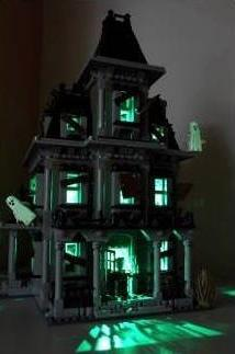Monster Haunted House Lighting Kit for set 10228 by Brick Lo
