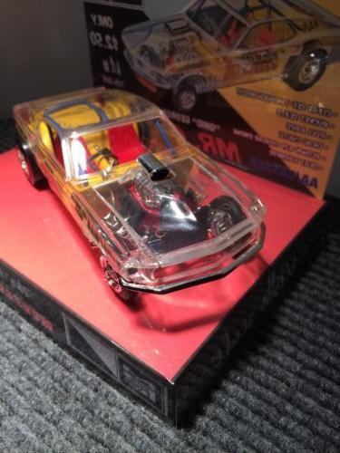 MPC FORD MUSTANG GASSER MR GASKET CAR MODEL BASE
