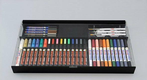 Mr.Hobby Gunze Gundam Marker Pen Paint Detail Color Tools Ba