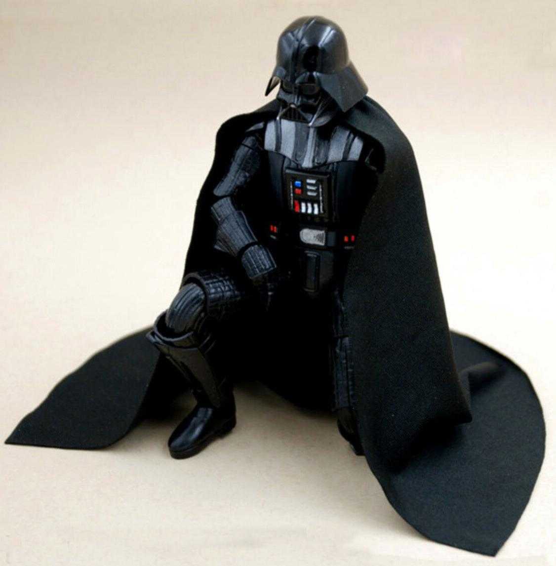 MY-C2-DV: FIGLot Fabric cape for Bandai 1/12 scale Darth Vad
