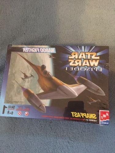 Naboo Fighter Star Wars Model Kit AMT ERTL NEW IN BOX STILL