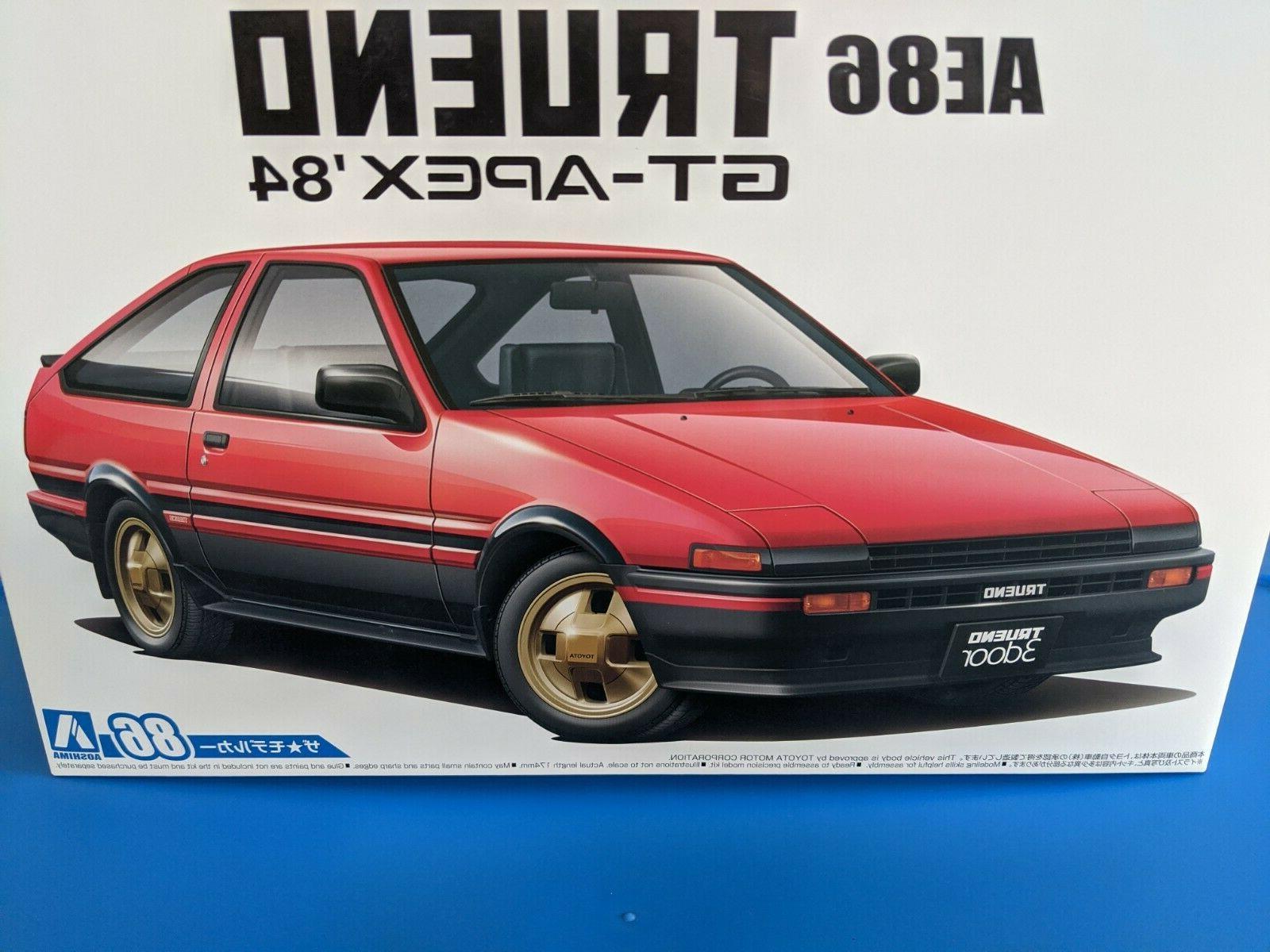 new 1984 toyota ae86 sprinter trueno gt