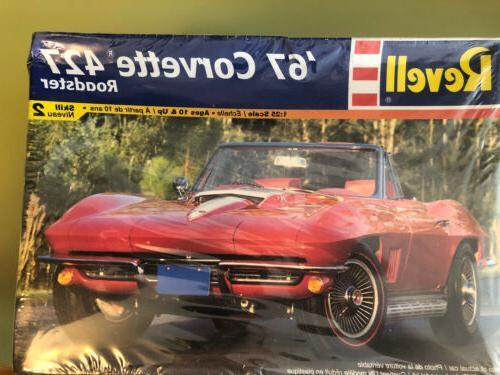 new 67 corvette 427 roadster no 85