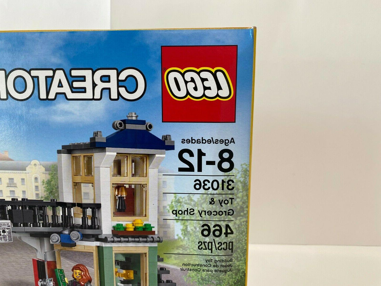 New Lego Grocery Shop 31036 Sealed Retired!