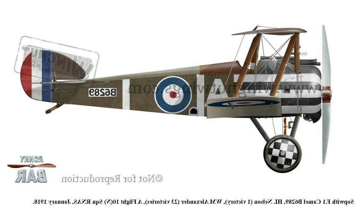 *NEW, Wingnut 1/32 Sopwith F.1 Camel 'Clerget'