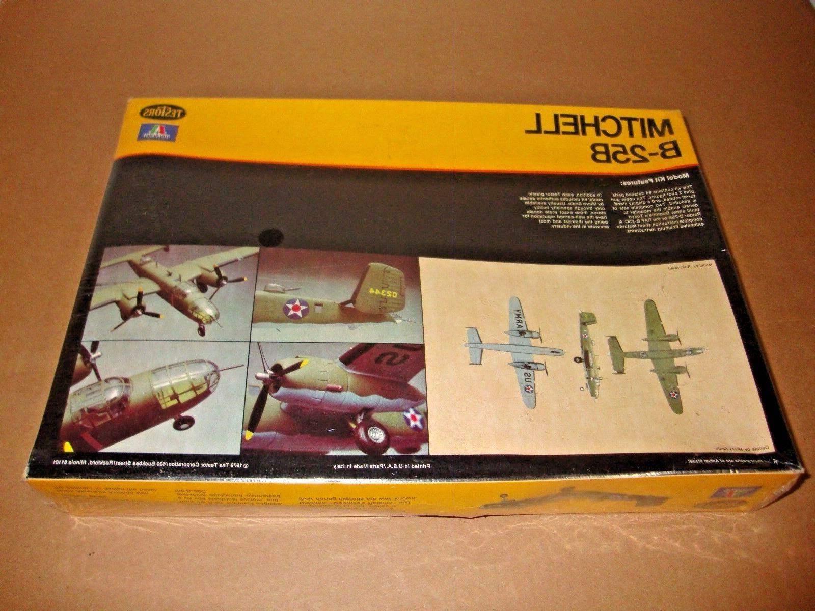 NEW Testors Mitchell Bomber Model