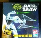 NIP AMT ERTL Star Wars TIE Interceptor Plastic Model Kit #38