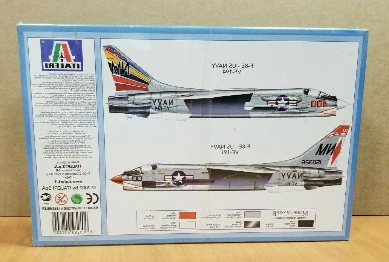Italeri - 1:72 F-8 Plastic Aircraft