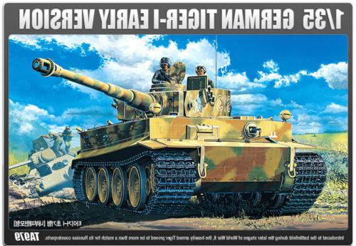 Academy TIGER-I EARLY VERSION Model Kit