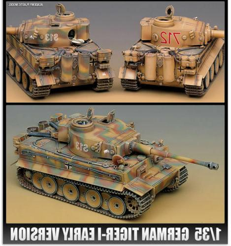 Academy 1/35 GERMAN TIGER-I Model Kit