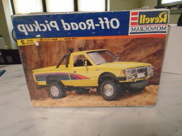 off road pickup 1 24 model kit