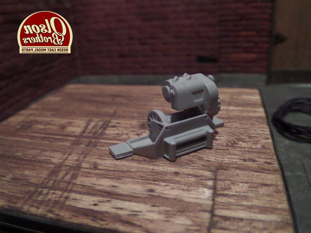 Olson Brothers 1/25 Winch Kit 3D !NEW!
