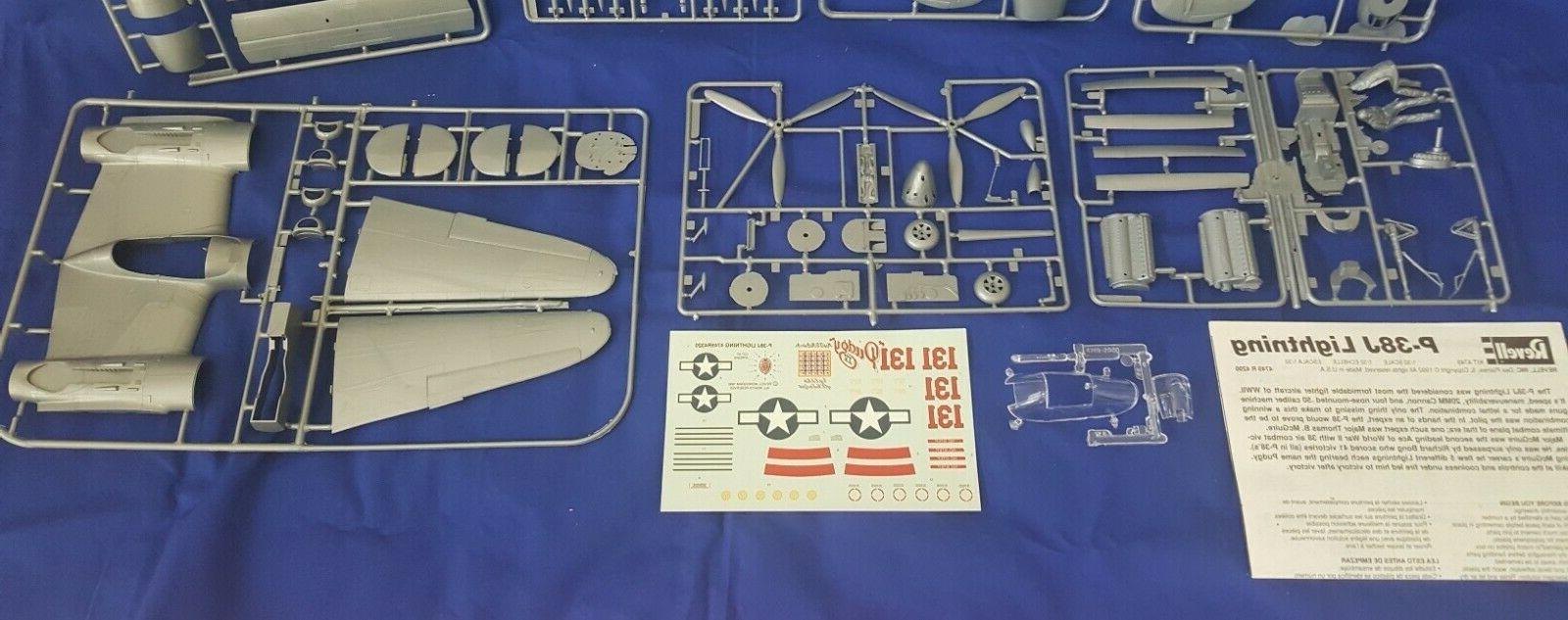 Revell P-38J LIGHTNING scale MODEL KIT
