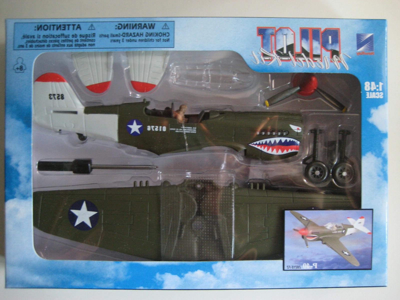 p 40 warhawk model kit 1 48
