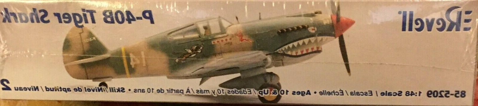 P-40B Shark Revell 1/48 Kit 85-5209