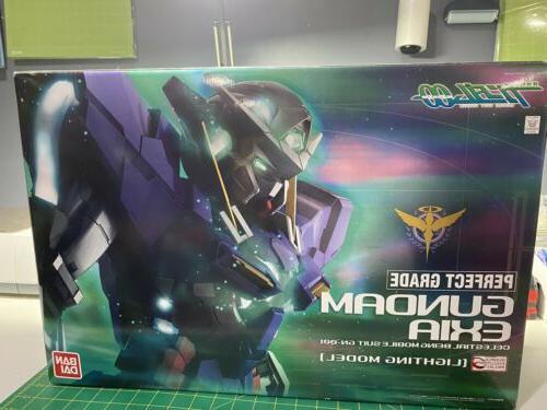 Bandai Perfect Grade Gundam Exia Gundam 00 Lighting Version