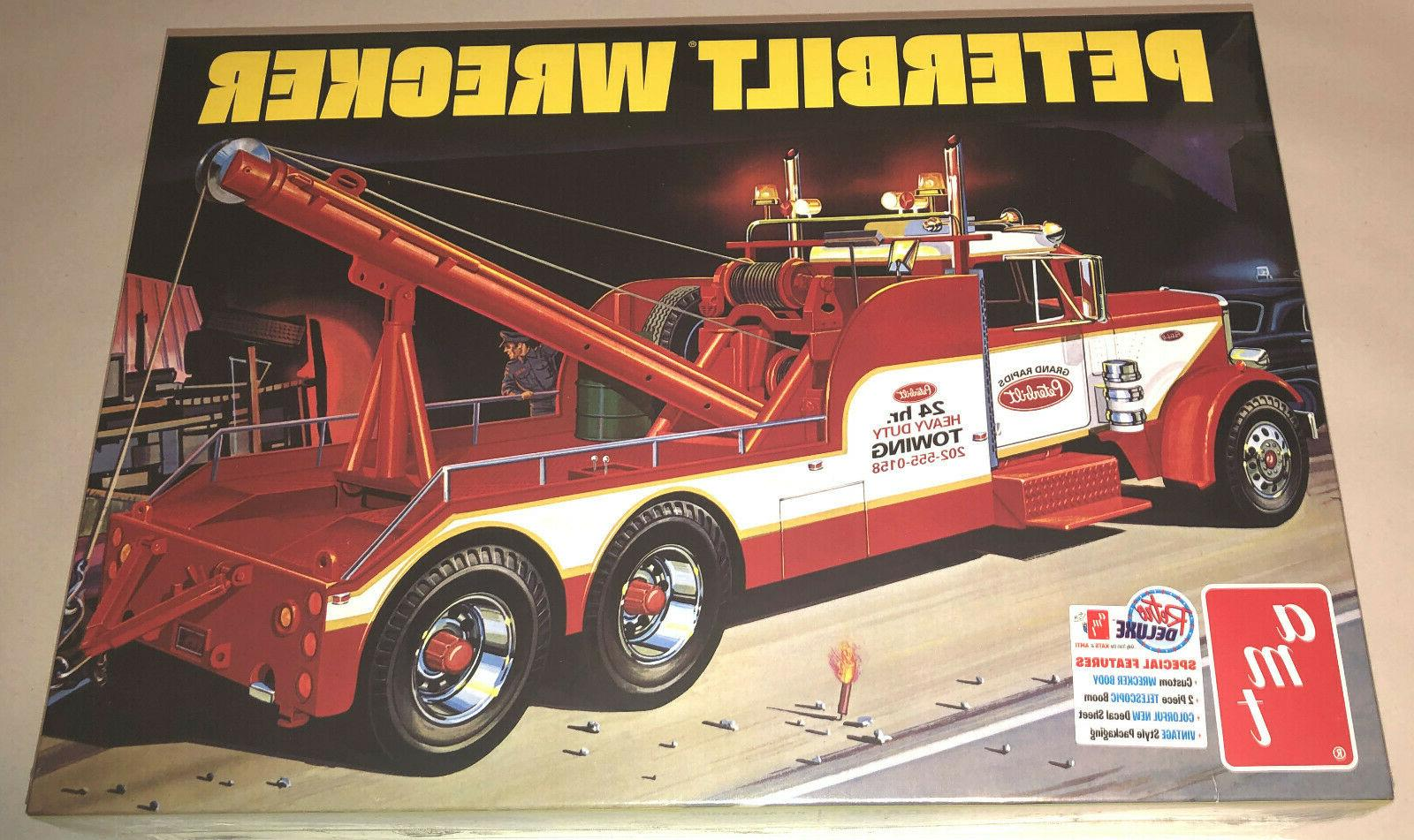 peterbilt 359 wrecker 1 25 scale model