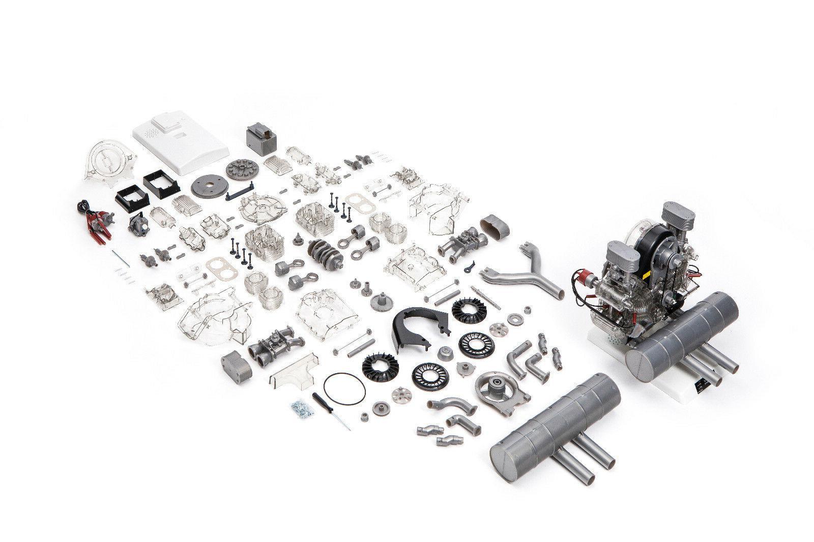 Porsche Model Engine Kit with