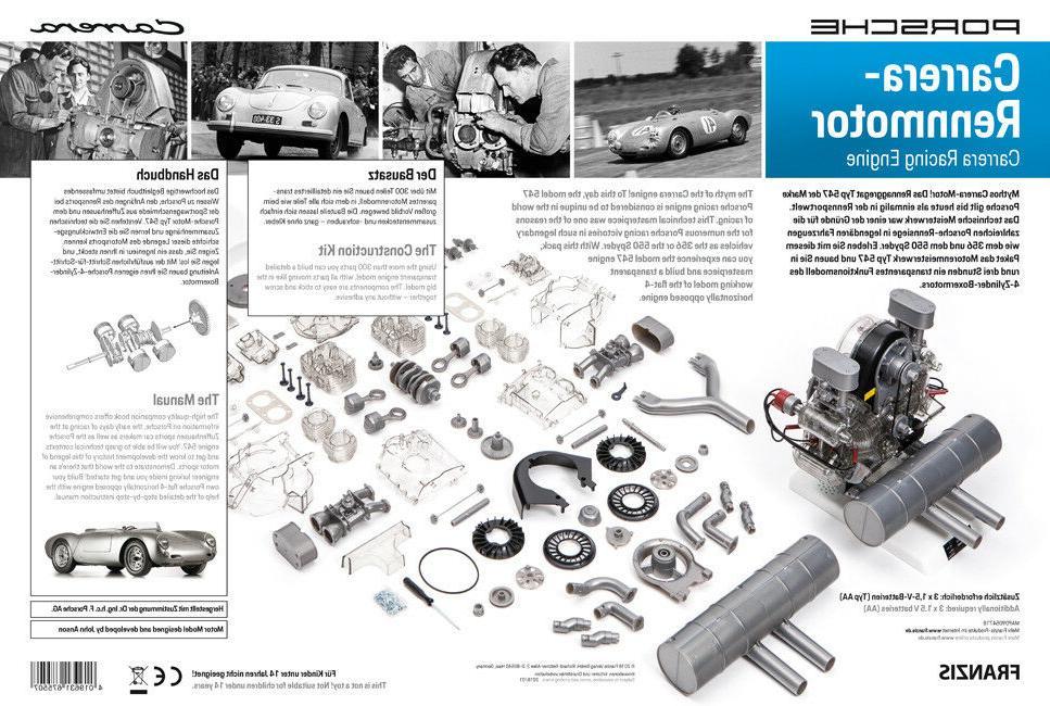 Porsche Carrera Model Engine Kit book