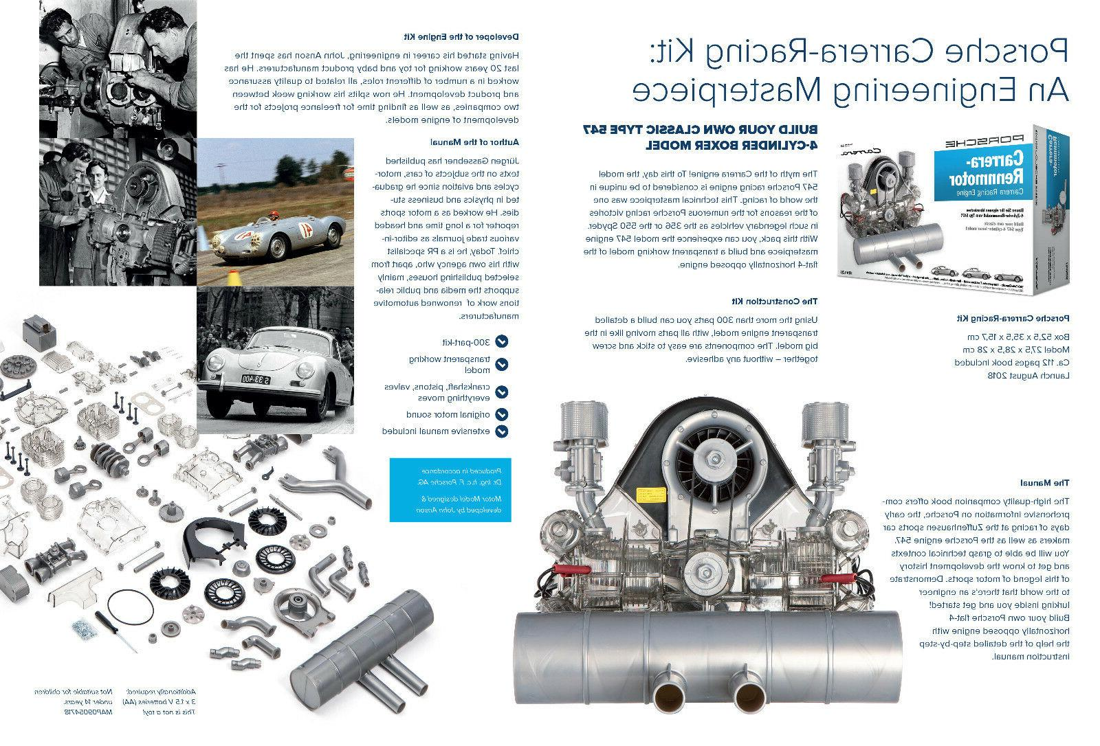Porsche Model Engine Kit with Collector's