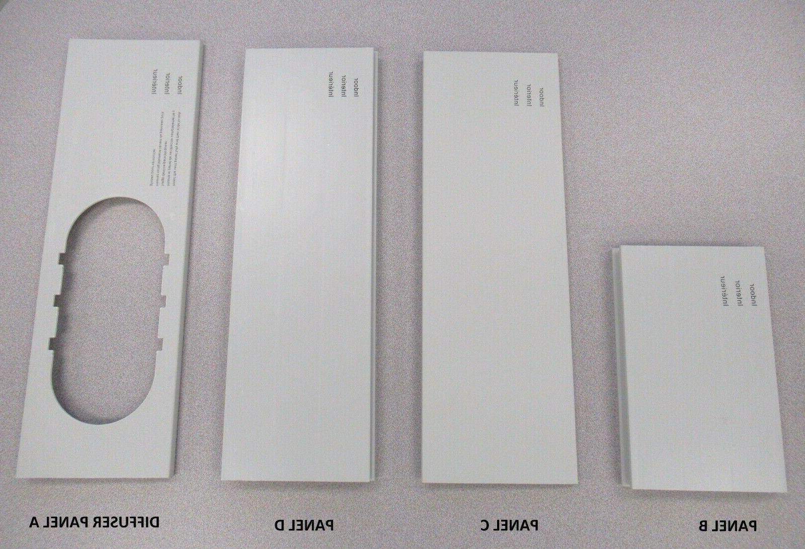 LG Portable Air Conditioner Window Panel Kit for 2017 LG Por