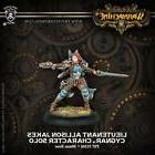 Privateer Press Warmachine Cygnar Lieutenant Allison Jakes M