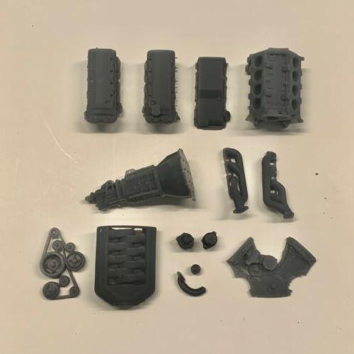 2012 Engine Swap Model Kit 1/25