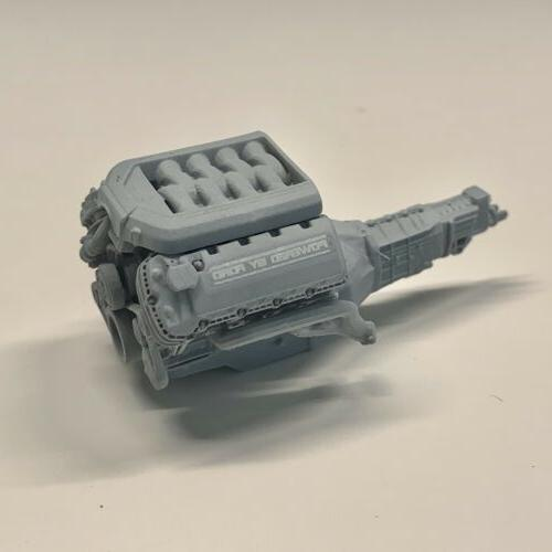 Resin 2012 Engine Swap fits Model Kit 1/24 1/25