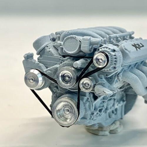 Resin Engine w 1/24 1/25